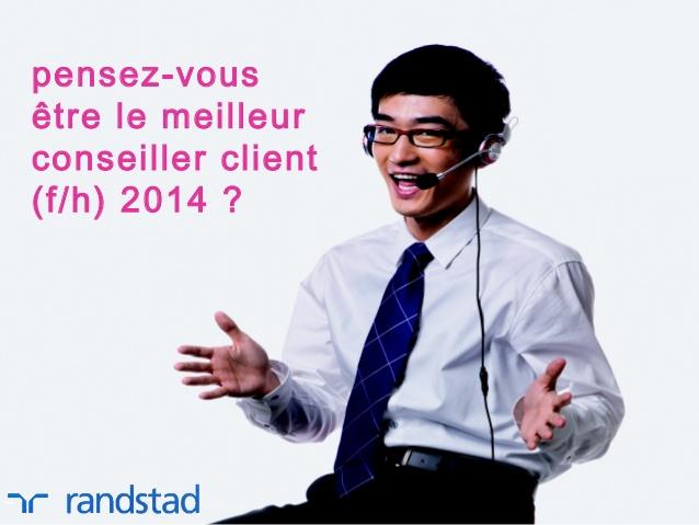 Le meilleur conseiller client 2014