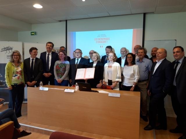 L'APCRC et le club des entreprises inclusives de la Vienne