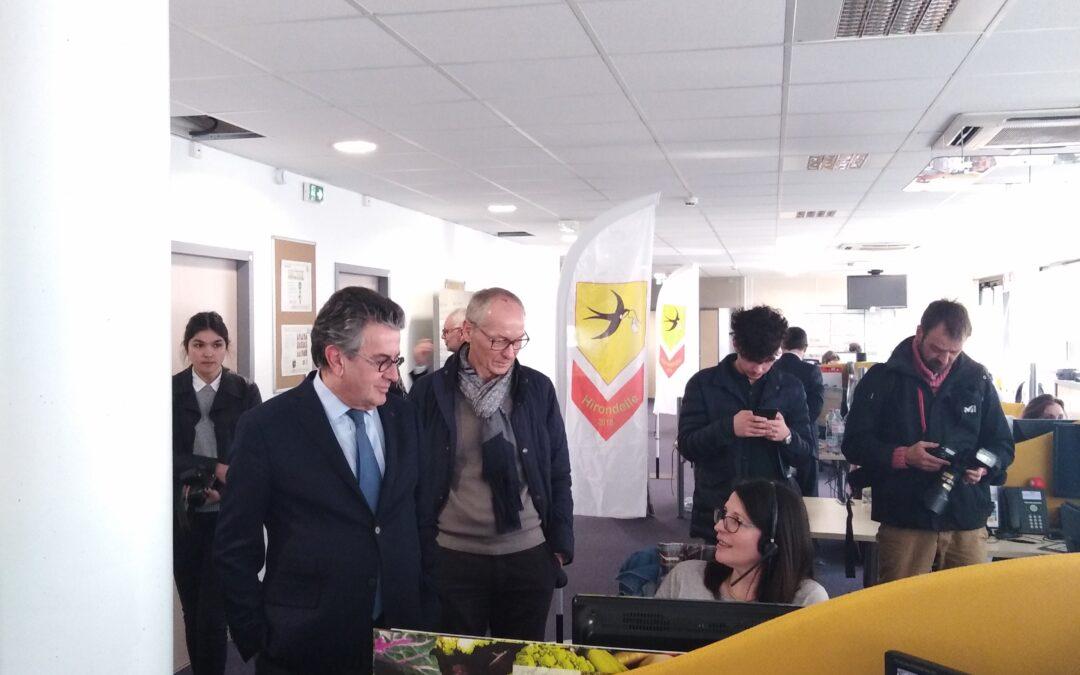 Le maire de Poitiers à l'APCRC